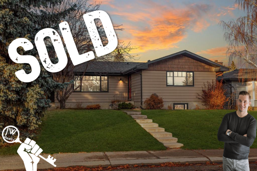 Braeside Calgary Sold Home by Justin Wiechnik