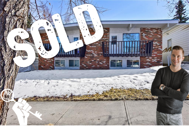 233 & 235 27th Ave NW Calgary Tuxedo Park Duplex Sold by Justin Wiechnik of the JW Realty Team at Grassroots Realty Group