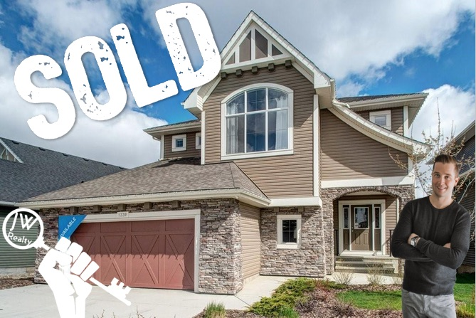 Bayside Airdrie Sold Home by Justin Wiechnik